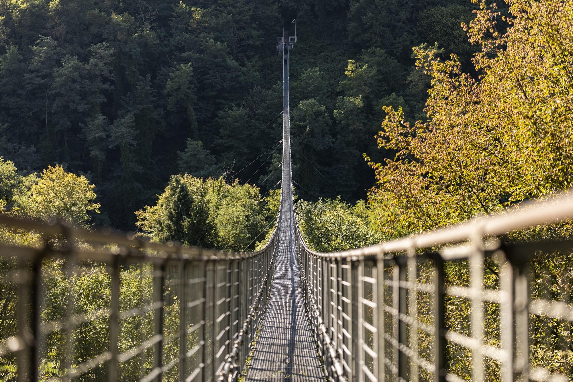 Ferriere suspension bridge
